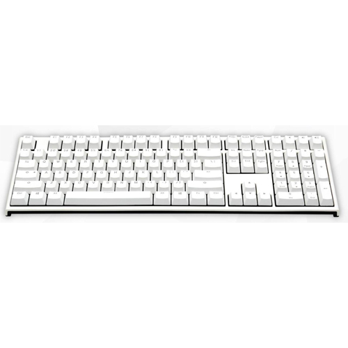 ducky one 2 white led